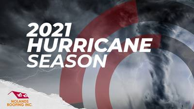 Hurricane season is here. Be in the know. Thanks to our partner Nolands Roofing!