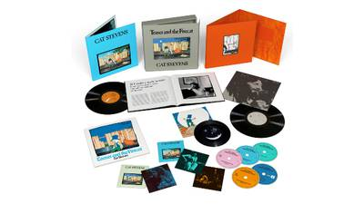 Expanded 50th anniversary reissue of Cat Stevens' 'Teaser and the Firecat' album due in November