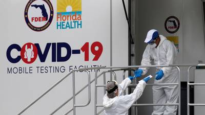 Video: Florida reports more than 10,000 new cases of COVID-19