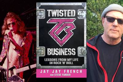 """Watch Jay Jay French Of Twisted Sister Talk His New Book """"Twisted Business"""""""